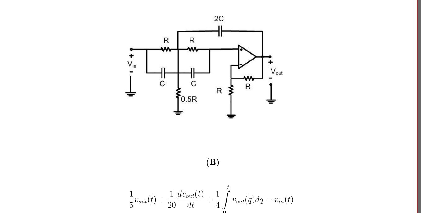 The systems represented by circuit a and the integ