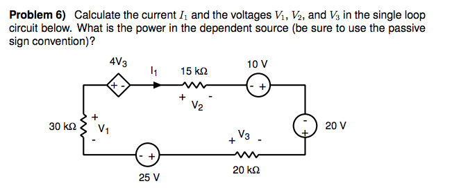 Calculate the current h and the voltages V1, V2, a