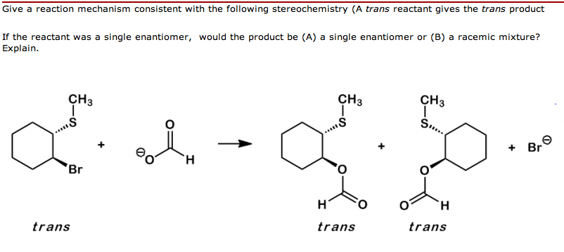 Give a reaction mechanism consistent with the foll