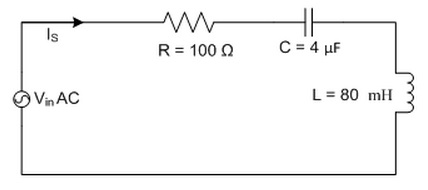 1. Determine the resonance frequency of the follow