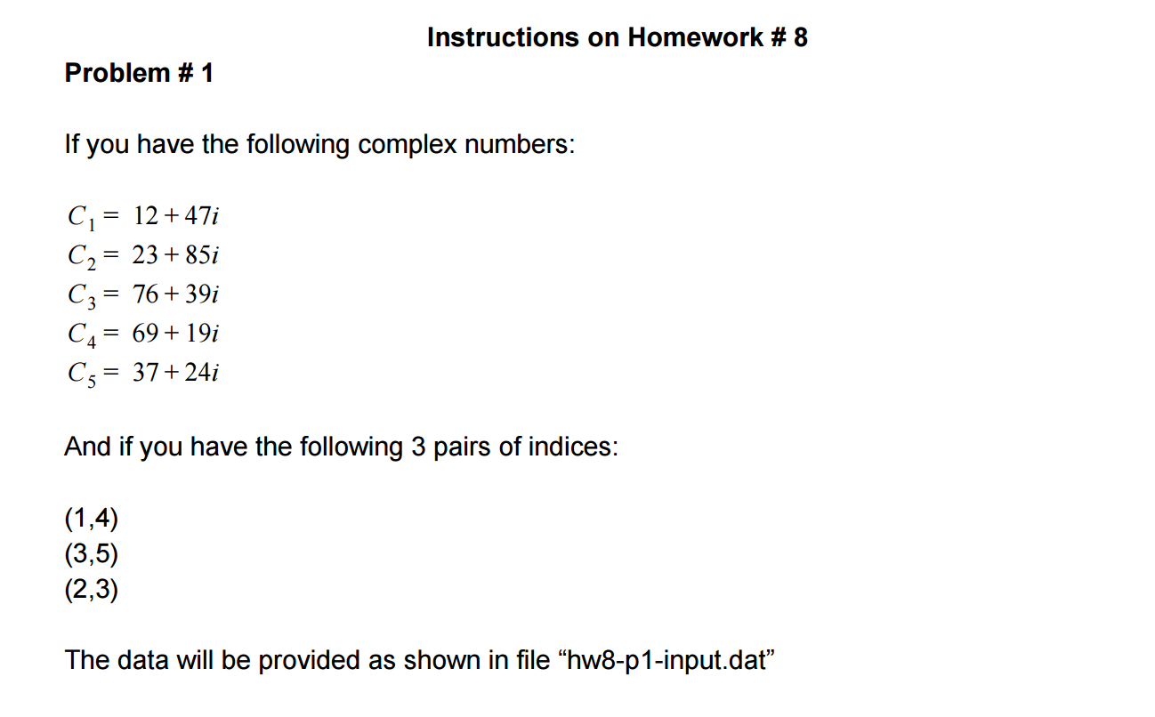 Homework help instruction