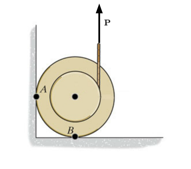 Solved draw a free body diagram of the spool draw fb f image for draw a free body diagram of the spool draw fb friction ccuart Images