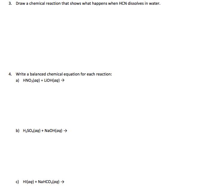 how to write a comjugate acid