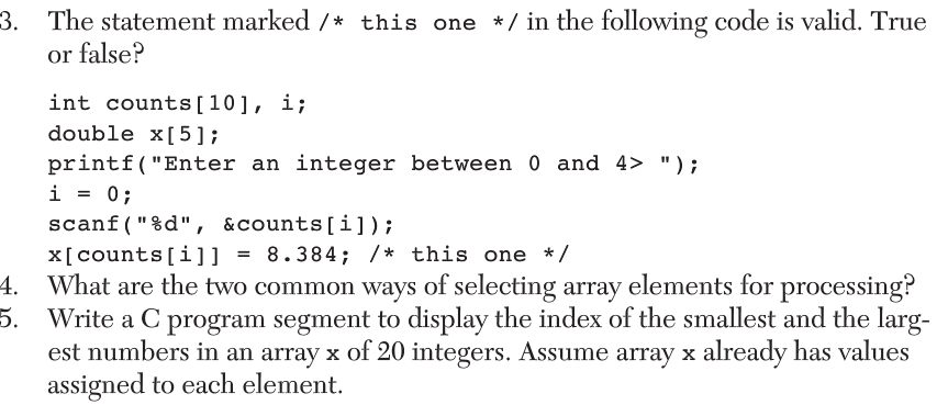 how to write function that takes array as parameter processing