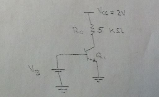 Consider the circuit shown in the figure below. As