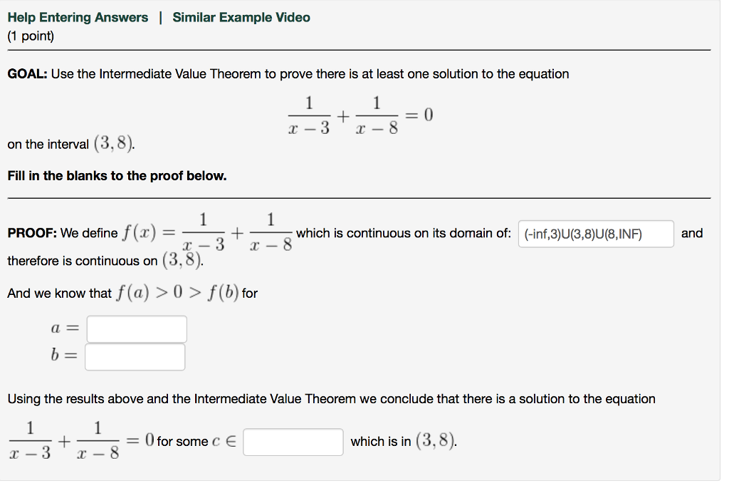 intermediate value theorem proof pdf