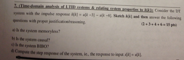(Time-domain analysis of LTID system & relating sy