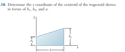 how to find x in a trapezoid