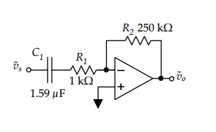 The amplifier circuit shown below is intended for