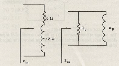 As shown below, a 5 ? resistor and a 12 ? inductor