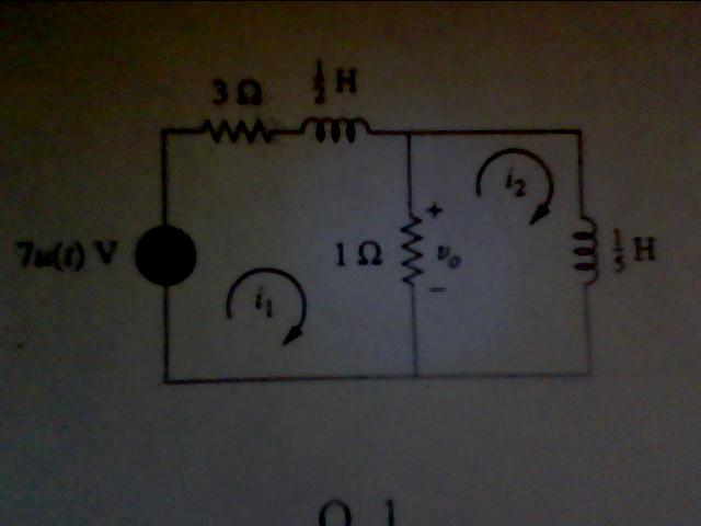 The circuit is a second order circuit constructed