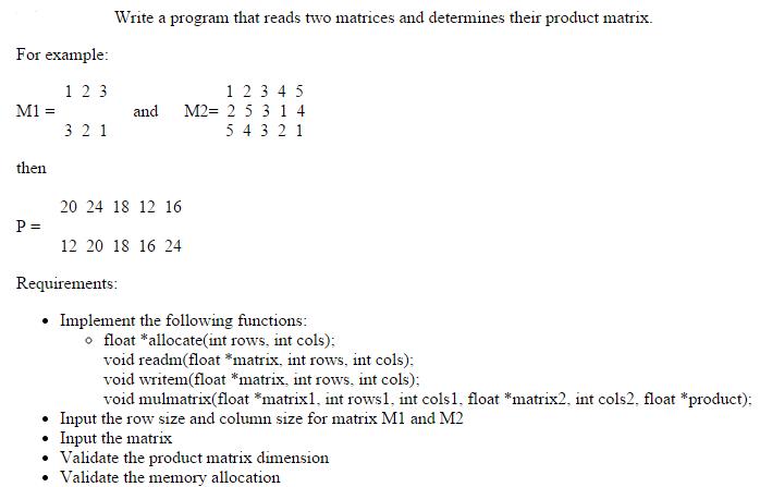 C# Program to Perform Matrix Multiplication