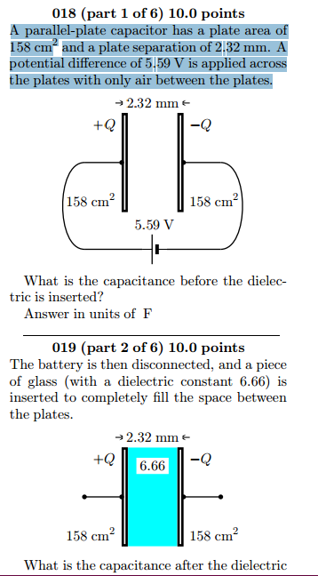 is inserted? Answer in units of F 020 (part 3 of 6