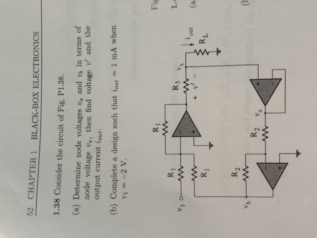 Consider the circuit of Fig. P1.38. Determine n