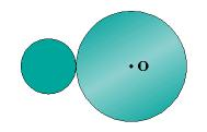 In Fig. 11-10, a small disk of radius r = 2.00 cm