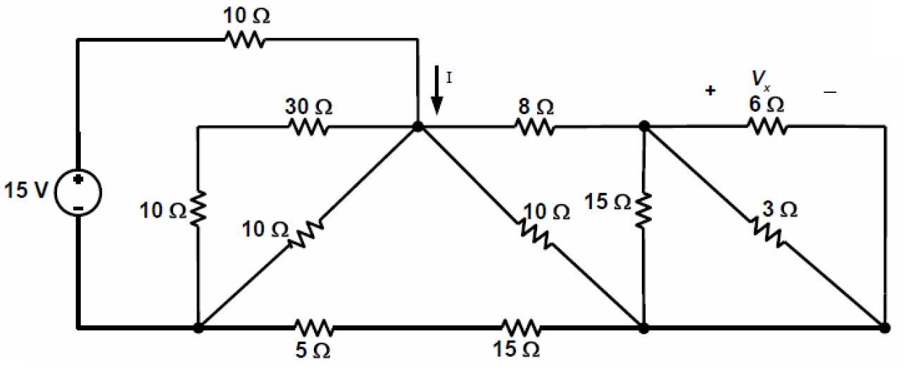 solved  for the circuit show  use the principles of equiva