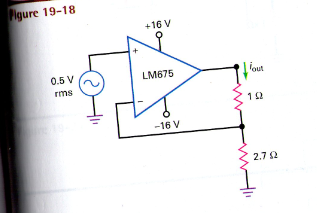If the load resistor is changed from 1 to 3ohms in