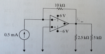 The op-amp in the circuit is ideal. a. label the f