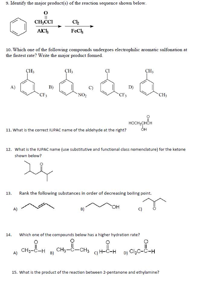 Inorganic Chemistry Homework Help