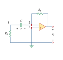 For the op amp circuit in the circuit, find vo for