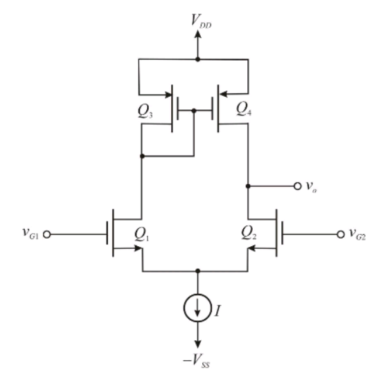 solved  the differential amplifier in the figure is biased