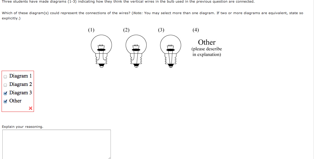 solved  three students have made diagrams  1