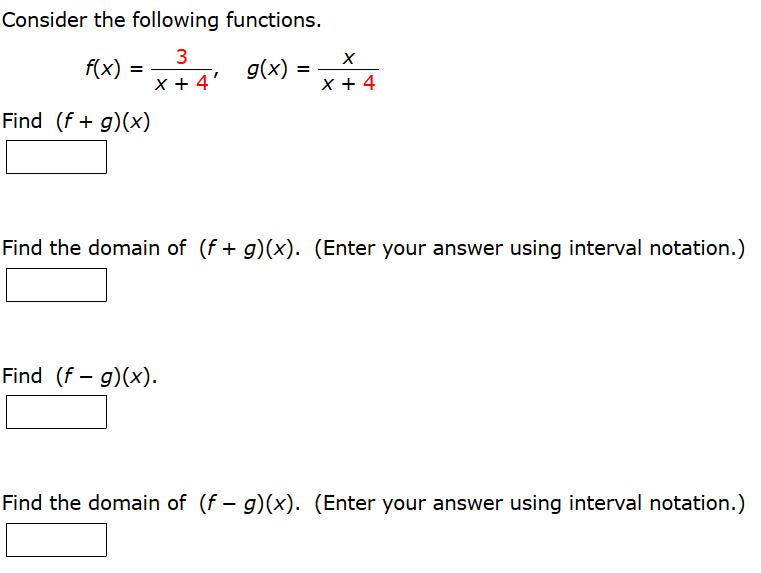 Homework help functions