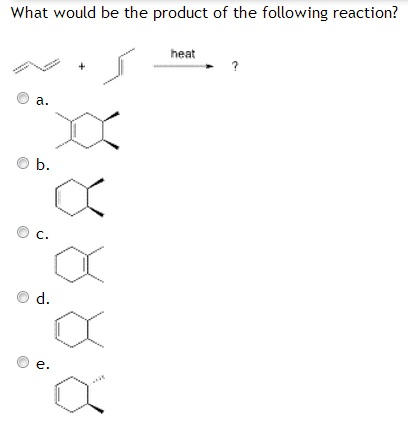 What would be the product of the following reactio
