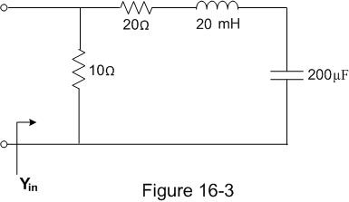 In the circuit of Figure 16-3, what is the magnitu