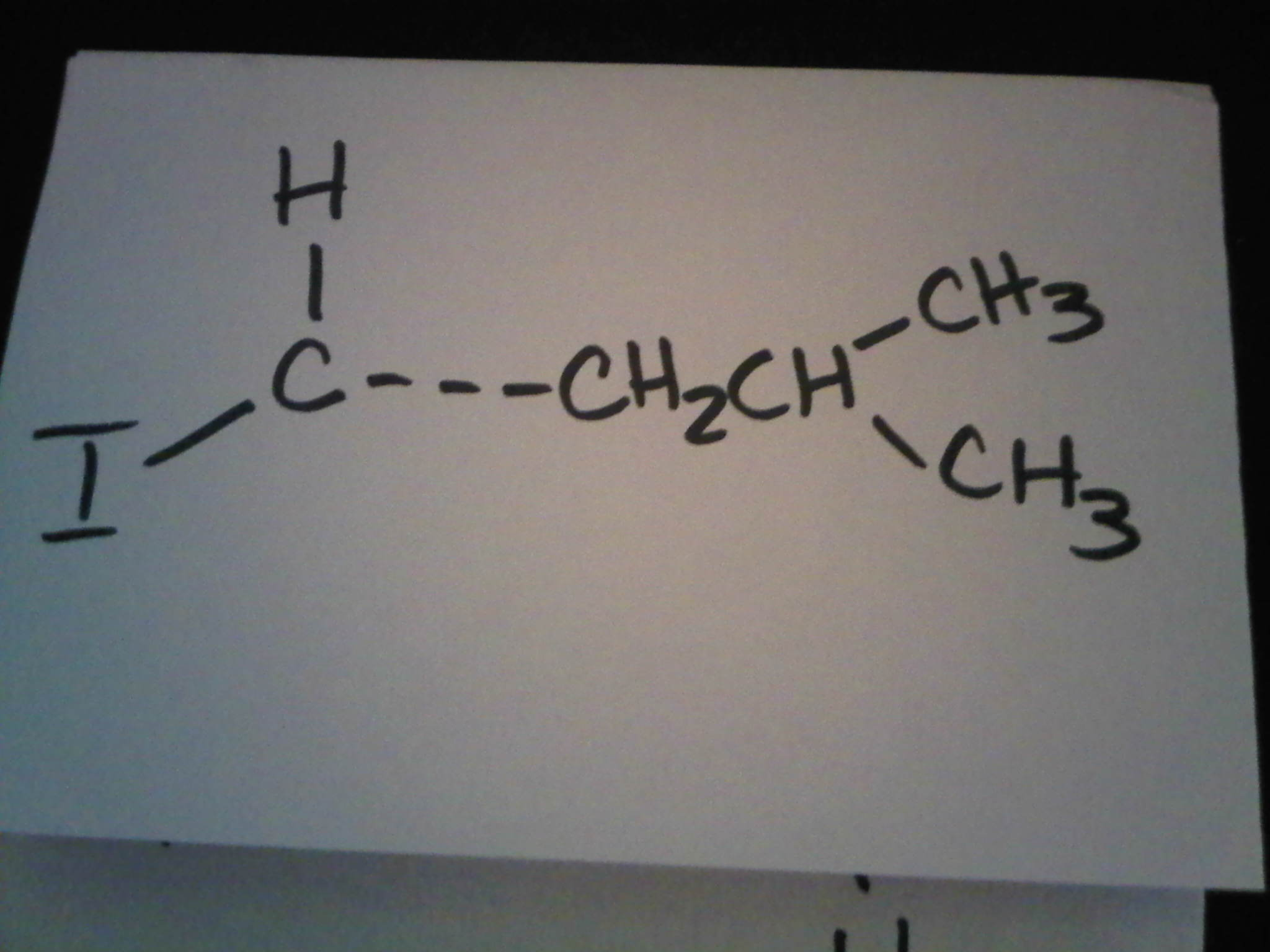 Attached is the compound I need help finding the C