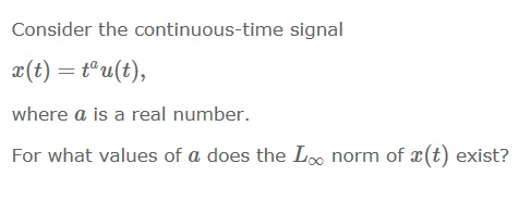 Consider the continuous-time signal x(t) = tau(t)
