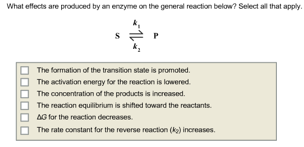 What effects are produced by an enzyme on the gene