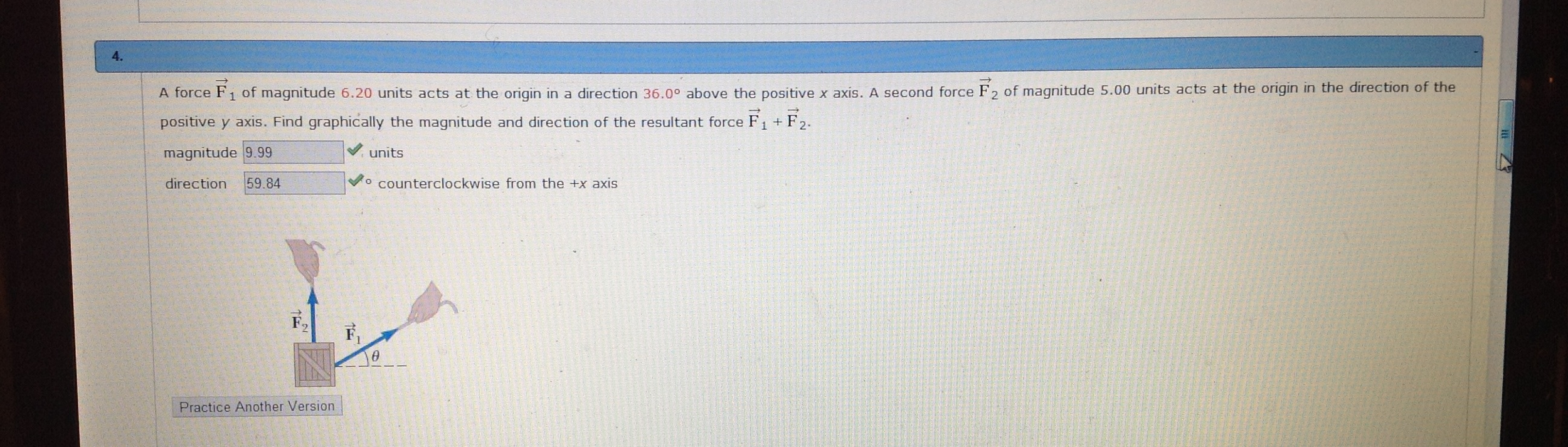 Hey guys so I did this problem and I understand ho