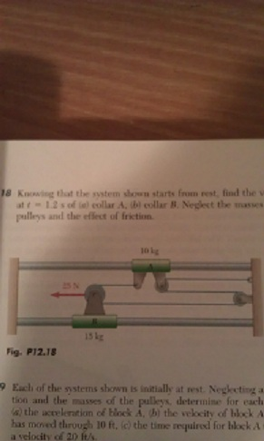 how to find friction knowing velocity and