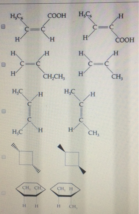 Solved: Identify Which Of The Following Pairs Of Compounds ...