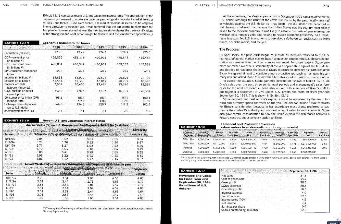 What are Diva's projected profits for the fiscal year ending September 1995?