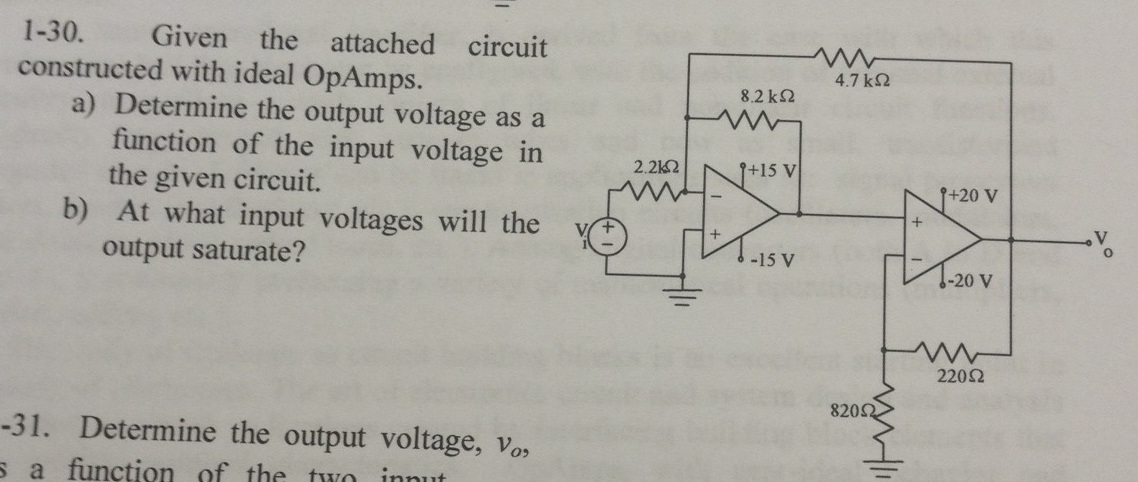 Given the attached circuit constructed with ideal