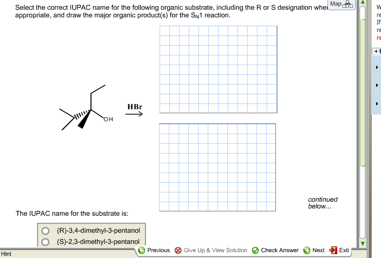 Select the correct IUPAC name for the following or