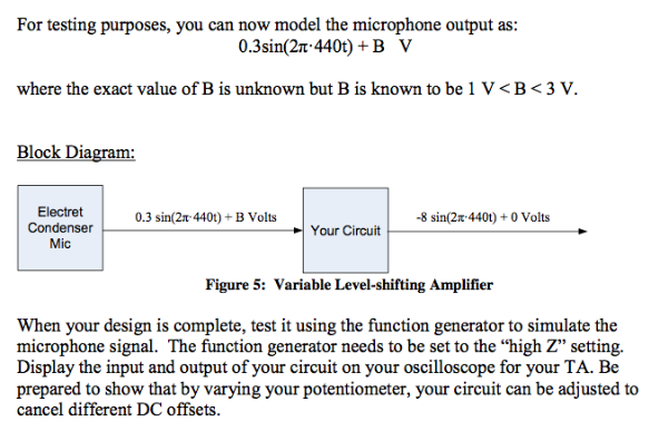 In this final problem, suppose that your input sig