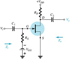 What configuration does the following circuit repr