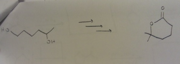 Draw a reasonable synthesis: (multiple answers are