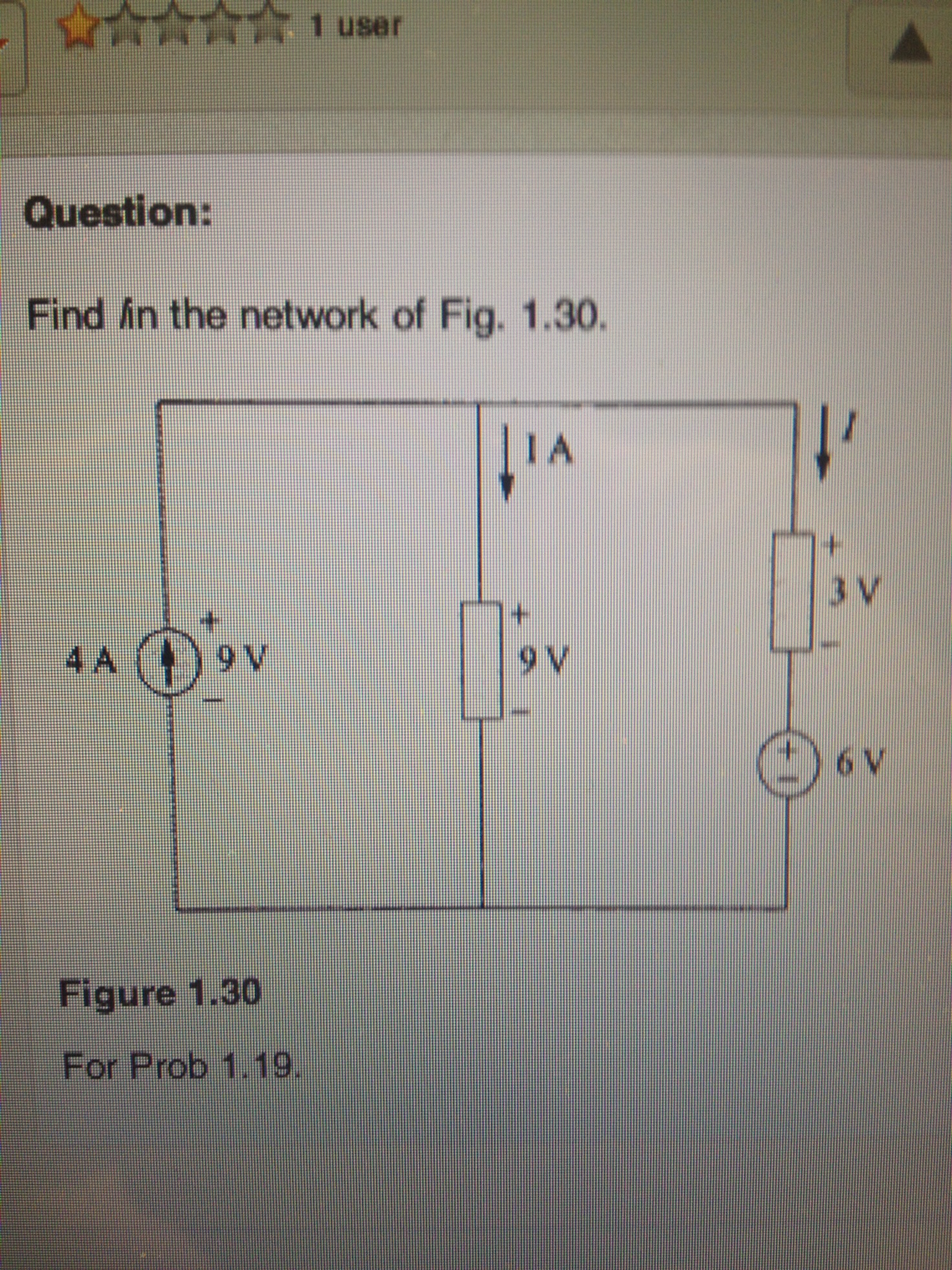 Find in the network of Fig.1.30
