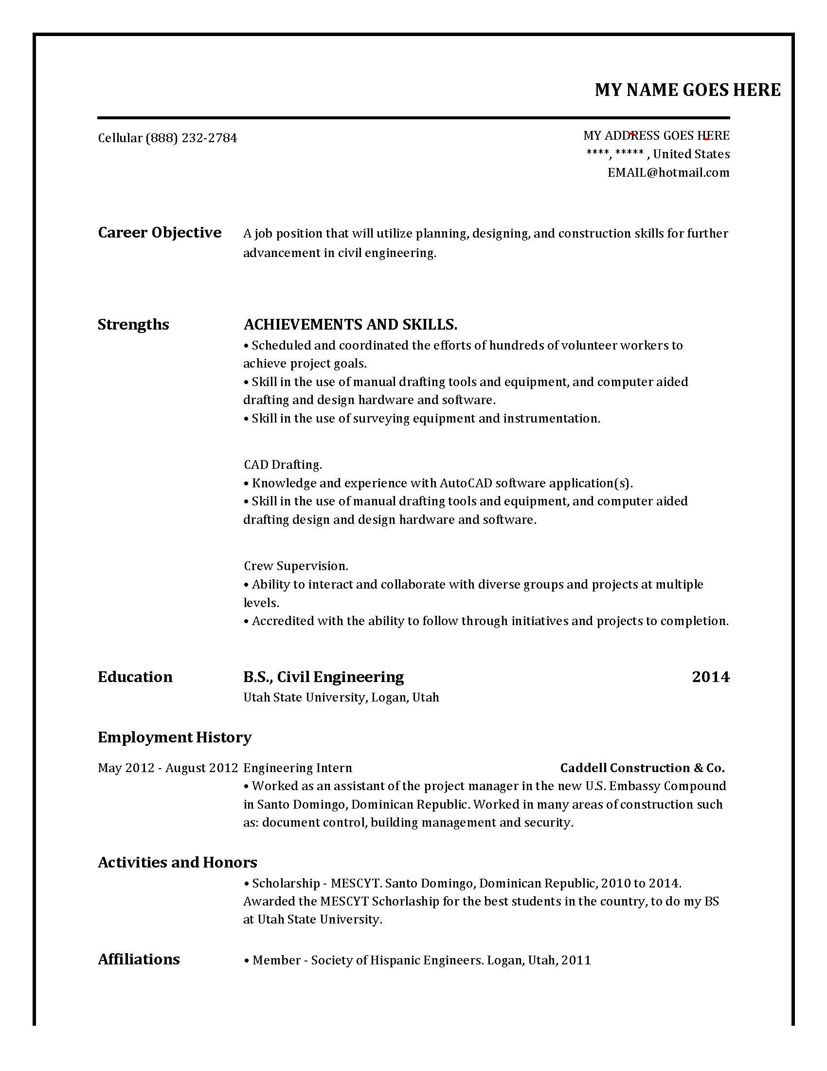 help me make my resume free i would like someone to tell me the grammar sente chegg com