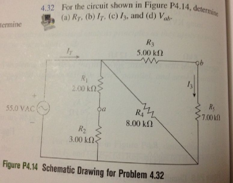 For the circuit shown in Figure P4.14, determine