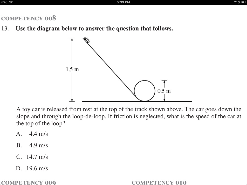 Use the diagram below to answer the question that