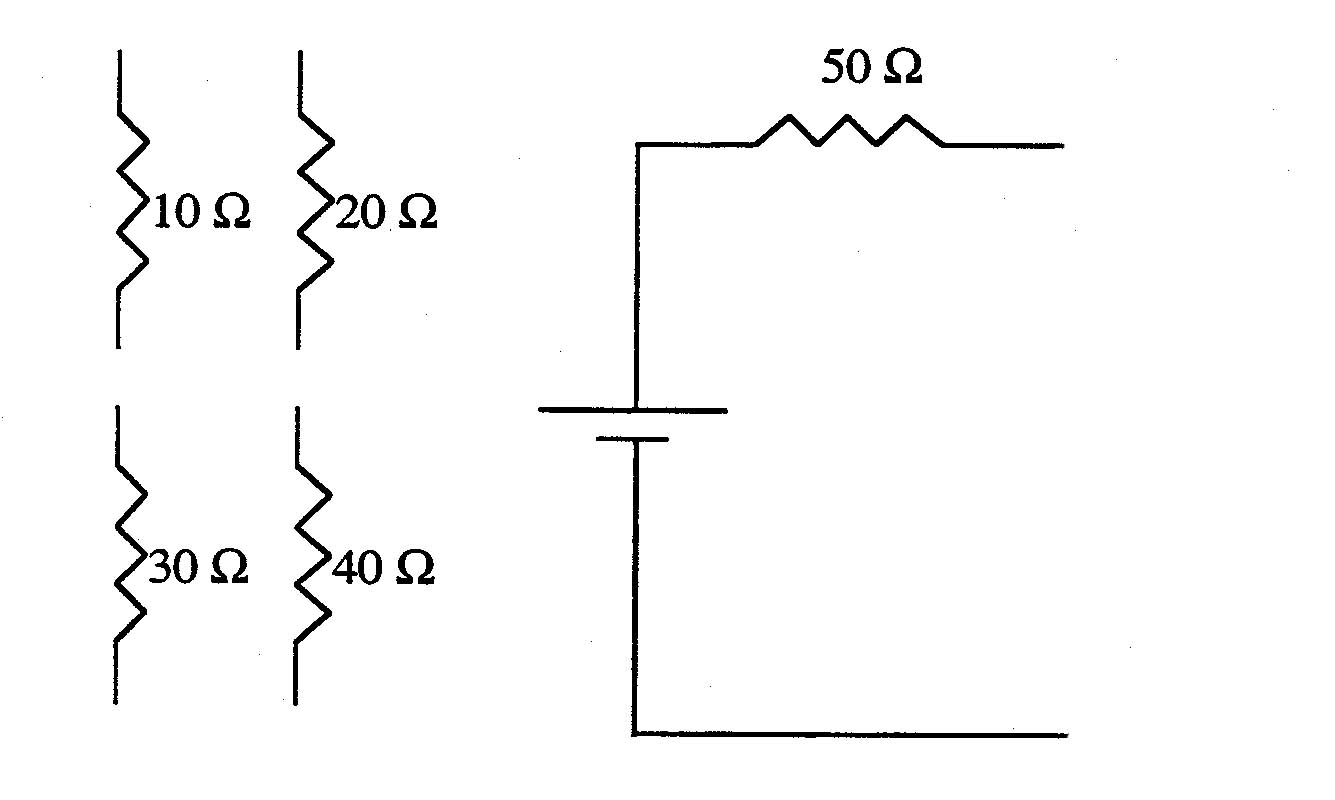 solved  complete the circuit below which  when the voltage