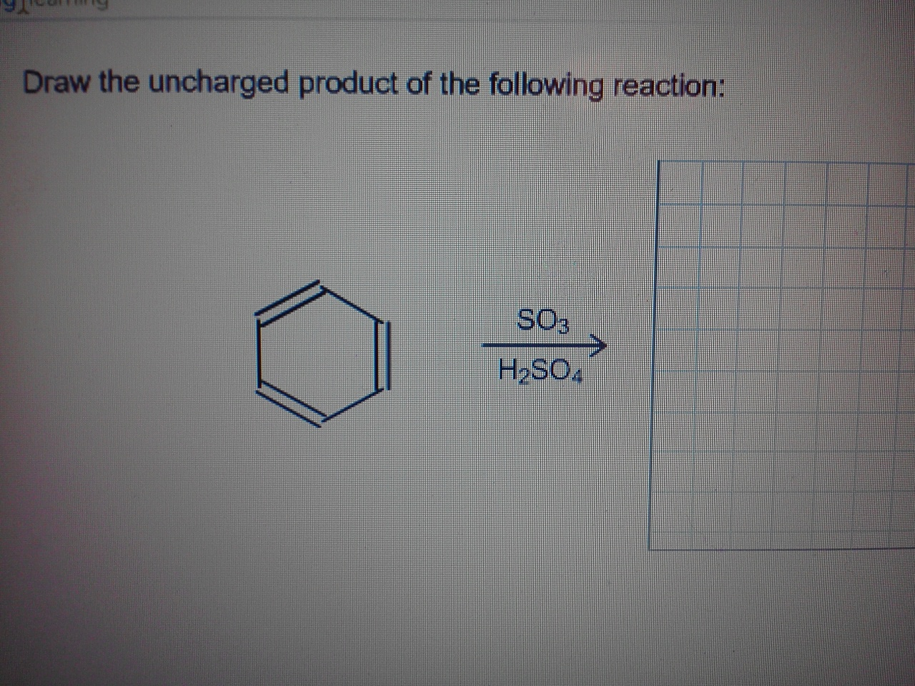 Draw The Uncharged Product Of The Following Reaction | Chegg.com