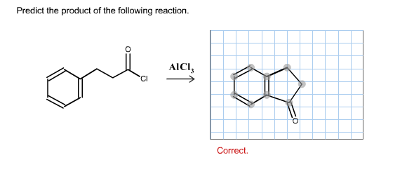Predict the product of the following reaction.