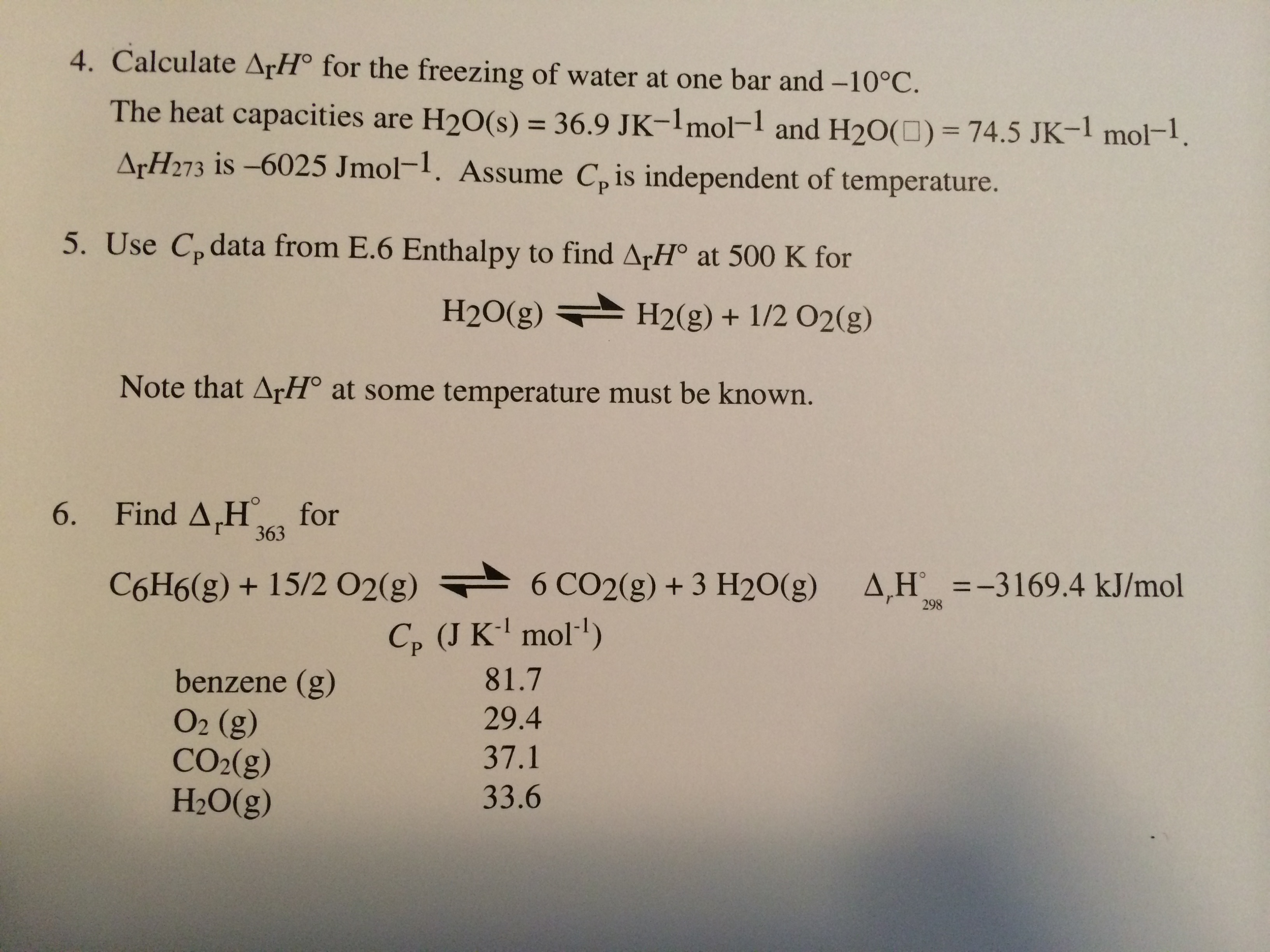 I need help with these questions?