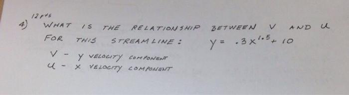 relationship between stream depth and velocity